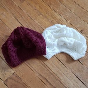 Rue21 • Slouchy Hat Beret 2 Piece Set